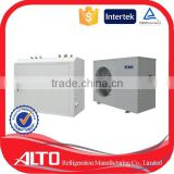 Alto quality certified high efficiency no co2 household monoblock automatic controller ductless mini split air heat pump