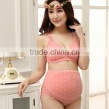 Z81830B Long stock factory supply maternity bra set pregnant clothes wear