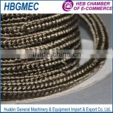 high temperature basalt fiber square rope