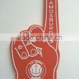 playing cutome foam finger cheering foam finger rocket cheering foam hand