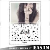 Wholesale hand arm band tattoo/body tattoo sticker/temporary tattoo