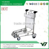 2015 Thailand market 4 wheels 304 stainless steel baggage cart for airport (YB-AT024)                                                                         Quality Choice