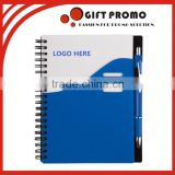 Advertising Printed Planner Spiral Notebook With Pen                                                                         Quality Choice