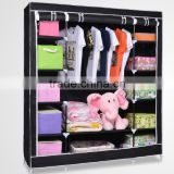 modern appearance diy plastic foldable resin wardrobe