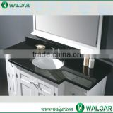 Best price one piece bathroom sink and black granite countertop                                                                                                         Supplier's Choice