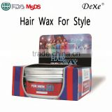 Private label professional hair wax china for men