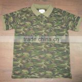 Camouflage Polo T shirts For Mens