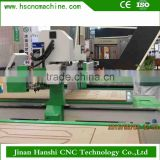 HS1325A three steps High Frequency Wood Board engraving and milling Joining Machine