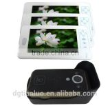 Night Vision Apartment Building Wireless Security System Monitor and Camera