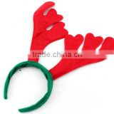 Fashion Wholesale Item Promotional Christmas Deer Antlers Head Buckle Size Party Prom Christmas Gift