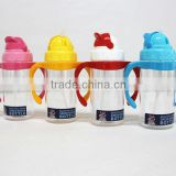 Baby Plastic Water Bottles With Straw