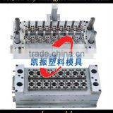 High precision 16 cavities hot runner injection moulding preform mould