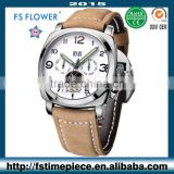 FS FLOWER - Chinese Mechanical Date Movement Watch At Cheap