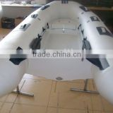 rigid inflatable pvc rib boat with cabinet