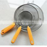 Hot pot line stainless steel large colander kitchen powder tools Strainers C60