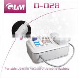 GLM New Product Hifu Body Ultrasonic Nasolabial Folds Removal Cavitation Radio Frequency Machine Face Lifting