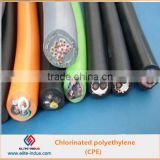 Chemical auxiliary agent chlorinated polyethylene CPE 135A for plastic waterproof roll material