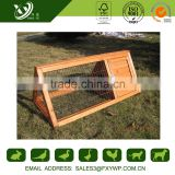 2016 durable light large wooden wholesale rabbit hutches for outdoor use