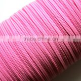 "1/8"" Pink Candy Skinny Elastic String Cords Headbands Wristbands Skinny Elastic webbing band string bungee string"