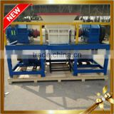 JT-400 Small model Double shaft Tire shredder machine with Low price