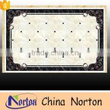 Norton rectangle simple design marble medallion tile lowes for home decor NTMS-MM003L
