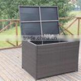 2014 high grade outdoor rattan cushion box
