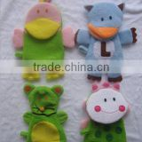 cartoon animal series baby bath Sponge Baby Bath Gloves