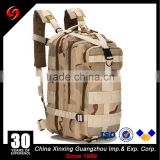 High Quality Three Sand Camo Multifunctional MOLLE Assault Backpacks Military Tactics Pack bags