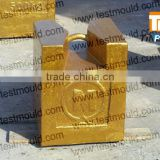 iron test weights, elevator cast iron counter weight blocks,cane load tester