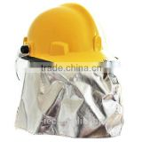 China fire fighter helmet with shock and High-Temperature Resistant