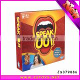 hot selling family christmas gifts speak out indoor board game pieces