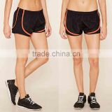 Women 100% Polyester Active Mesh-Panel Shorts Funning Running Gym Short Fitness Shorts Wholesale Custom Manufacturer Clothing