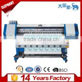 China best price high performance eco solvent printer dx5, large format inkjet dye submation printer