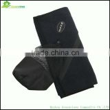 Sports towel with zip pocket 80 polyester 20 polyamide microfiber towel gym towel with pocket