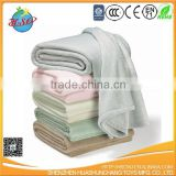 customized 100% polyester coral fleece soft baby sleeping blanket baby quilt