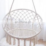 MACRAME HANGING CHAIR | MACRAME BOHO SWING CHAIR | HANDMADE HAMMOCK CHAIR| COTTON ROPE CHAIR