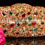 Best selling diamond women fashion handbag