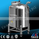 CE approved stainless steel 100 gallon fuel gas storage tank