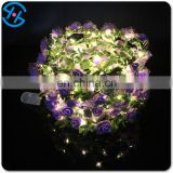 Popular product LED lighting up Crown Rose Flower