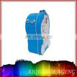 Doraemon round shape printed metal tin box