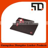 Eco-friendly Competitive Price Handmade Leather Custom Mouse Pad
