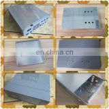 Custom made enclosure profile sheet metal fabrication fiber optical chassis boxes.