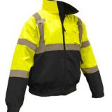 Wholesale Custom Breathable Hi Vis Bomber Jacket