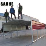 Easy asemble backyard DIY steel shed car shelter kit large garage canopy metal portable car port