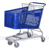 YLD-PT180-1FB Plastic Shopping Cart,Shopping Cart,Shopping Trolley Manufacturer