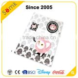 Made in china cat printing cute Japanese plastic clear pockets file folder