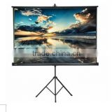 "72""4:3 High quality matt white projection screen tripod projection screen"