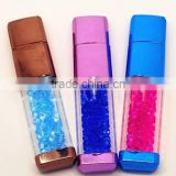 New products 2014 Crystal USB pen drive with LED light accept Alibaba express 1gb 2gb 4gb 8gb 16gb 32gb 64gb