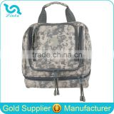 ACU Camouflage Army Military Men Toiletry Bag Hot Sale Men's Travel Toiletry Bag With Hanger Inside