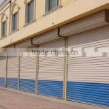 Rolling shutter door, Commercial security metal roll up door, aluminium rolling door and window, designer doors